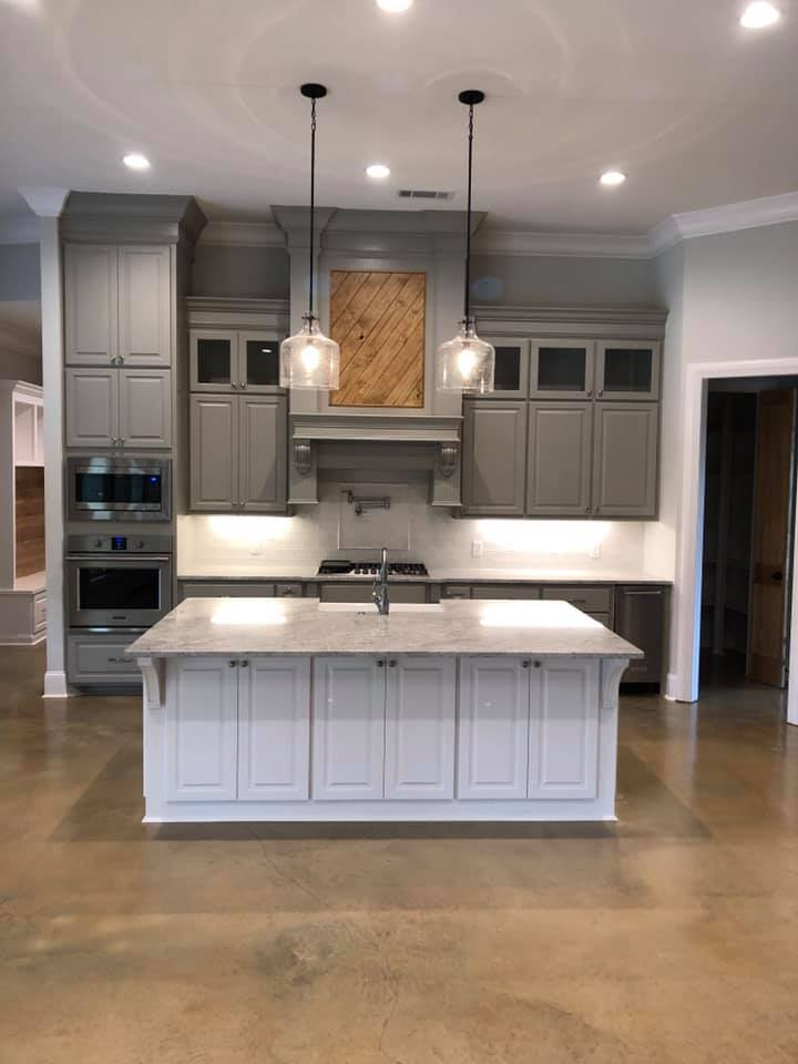 Custom Built Kitchen in Home in Madison, Ms