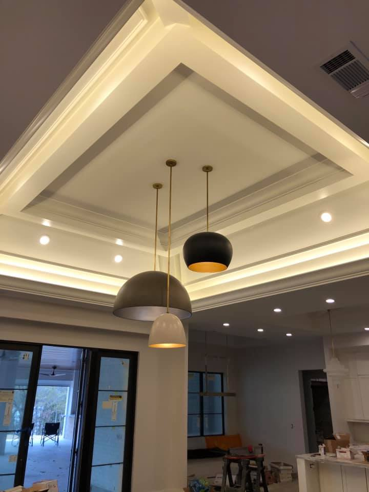 Custom Home Builder - Custom Lighting
