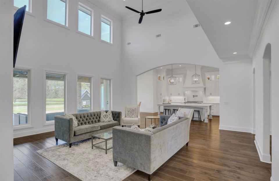 Madison Ms Custom Home Builder - Living Room